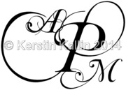 Monograms With Letters A M And P The Monogram Page