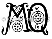 Monograms with letters M and M   The Monogram Page