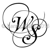 monograms with letters s and w the monogram page