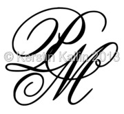 Monograms with letters M and P   The Monogram Page
